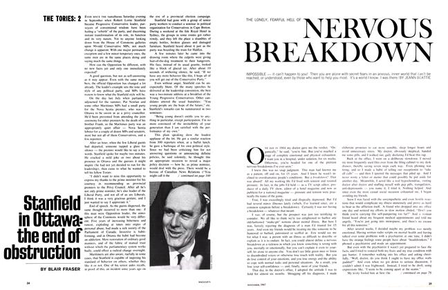 Article Preview: THE LONELY, FEARFUL HELL OF NERVOUS BREAKDOWN, November 1967 | Maclean's