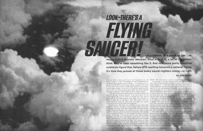 Article Preview: SA FLYING UCER!, November 1967 | Maclean's