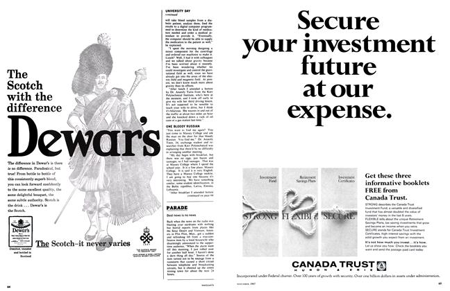 Article Preview: Best news is no news, November 1967 | Maclean's