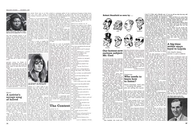 Article Preview: Who needs to learn how to listen?, November 1967 | Maclean's