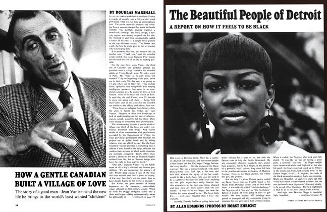 Article Preview: HOW A GENTLE CANADIAN BUILT A VILLAGE OF LOVE, December 1967 | Maclean's