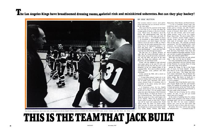 Article Preview: THIS IS THE TEAM THAT JACK BUILT, December 1967 | Maclean's