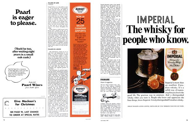 Article Preview: Power of suggestion, December 1967 | Maclean's
