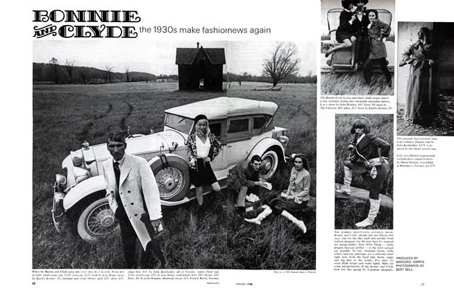 Article Preview: BONNIE AND CLYDE, January 1968 | Maclean's