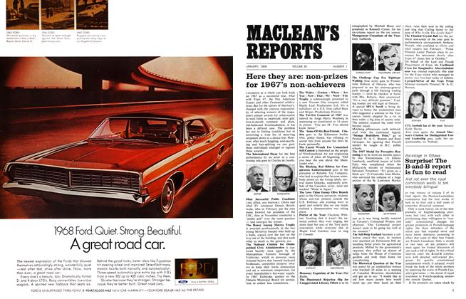 Article Preview: Surprise! The B-and-B report is fun to read, January 1968 | Maclean's