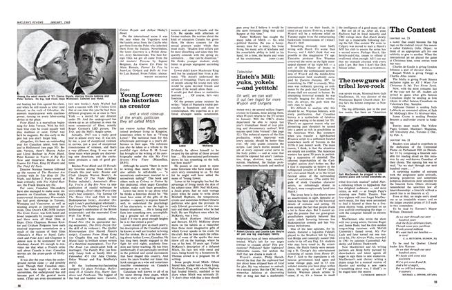 Article Preview: Young Lower: the historian as creator, January 1968 | Maclean's