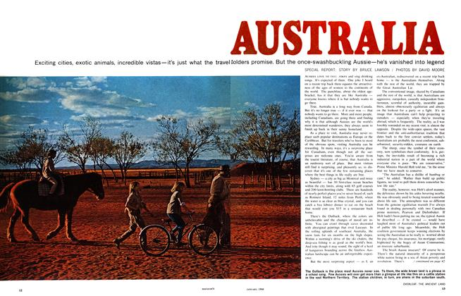 Article Preview: AUSTRALIA, January 1968 | Maclean's