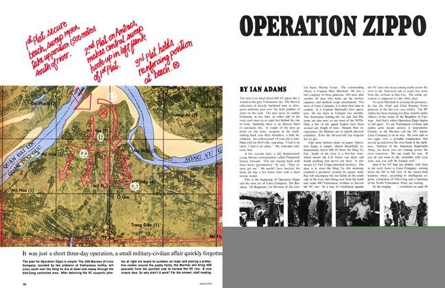 Article Preview: It was just a short three-day operation, a small military-civilian affair quickly forgotten by strategists. But for the Marines and Vietnamese it was what the war really means, February 1968 | Maclean's