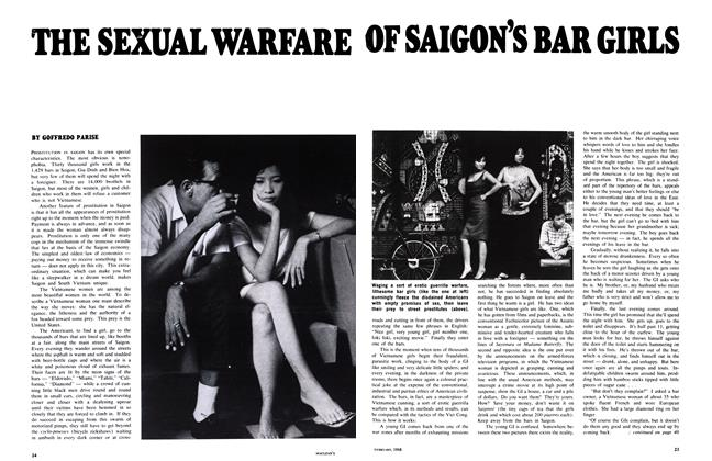 Article Preview: THE SEXUAL WARFARE OF SAIGON'S BAR GIRLS, February 1968 | Maclean's