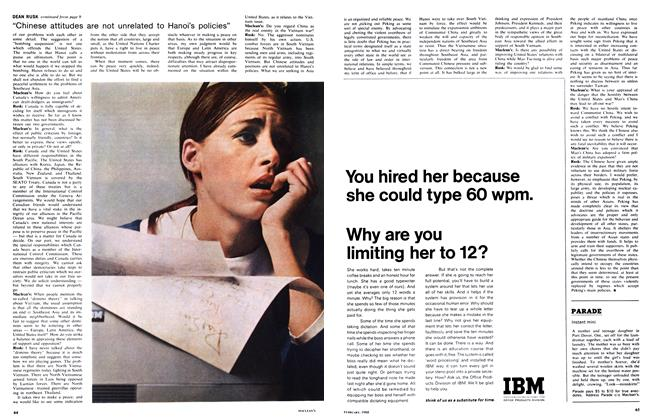 Article Preview: Instant mini, February 1968 | Maclean's