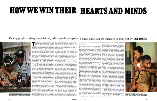 Article Preview: HOW WE WIN THEIR HEARTS AND MINDS, February 1968 | Maclean's