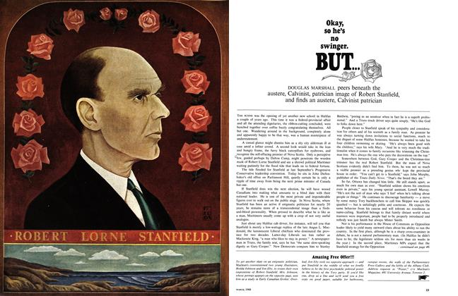 Article Preview: ROBERT LORNE STANFIELD, March 1968 | Maclean's