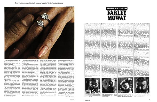 Article Preview: FARLEY MOWAT, March 1968 | Maclean's