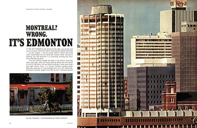 Article Preview: MONTREAL? WRONG. IT'S EDMONTON, March 1968 | Maclean's
