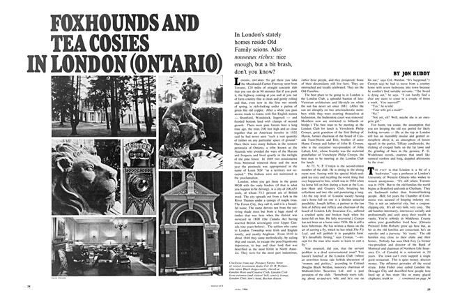 Article Preview: FOXHOUNDS AND TEA COSIES IN LONDON (ONTARIO), June 1968 | Maclean's