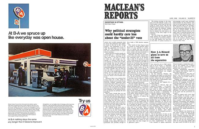 Article Preview: How J. A. Ménard plans to save us all from the separatists, June 1968 | Maclean's