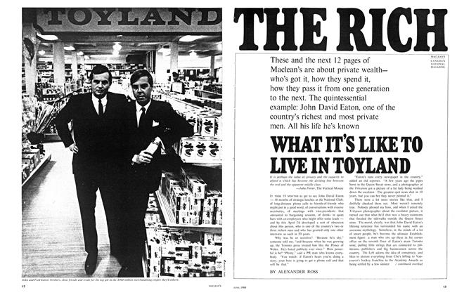 Article Preview: THE RICH, June 1968 | Maclean's
