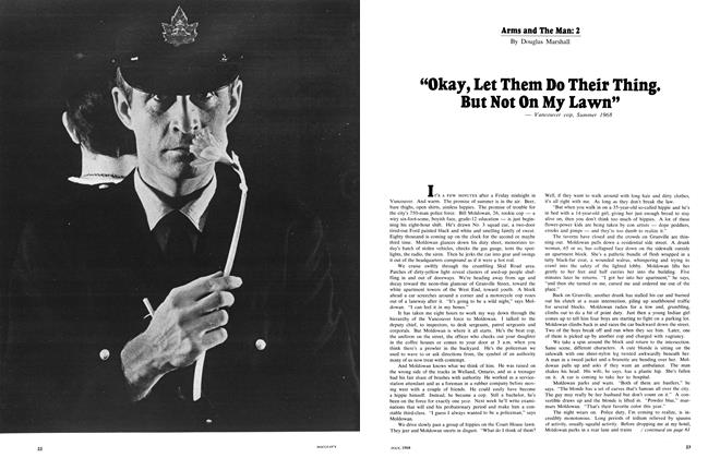 Article Preview: Arms and The Man: 2, July 1968 | Maclean's