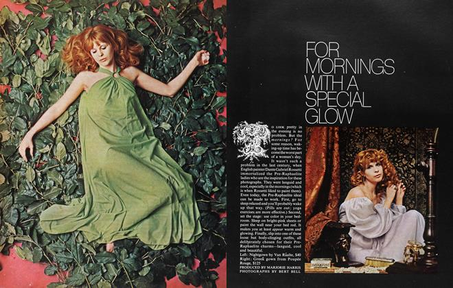 Article Preview: FOR MORNINGS WITHA SPECIAL GLOW, July 1968 | Maclean's