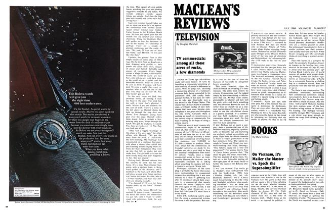 Article Preview: On Vietnam, it's Mailer the Master vs. Spock the Super-simplifier, July 1968 | Maclean's