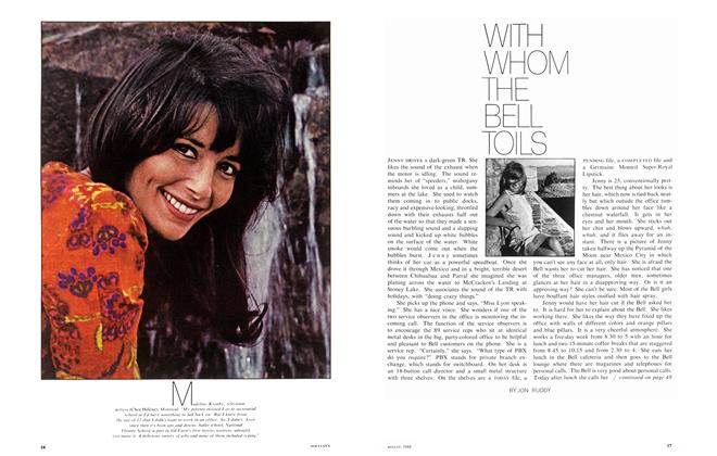 Article Preview: WITH WHOM THE BELL TOILS, August 1968 | Maclean's