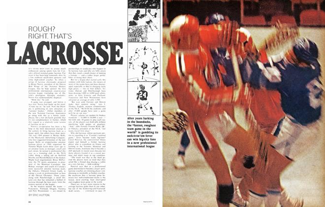Article Preview: ROUGH? RIGHT. THAT'S LACROSSE, August 1968 | Maclean's
