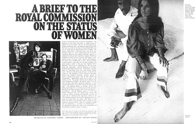 Article Preview: A BRIEF TO THE ROYAL COMMISSION ON THE STATUS OF WOMEN, August 1968 | Maclean's