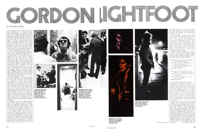 Article Preview: GORDON LIGHTFOOT, September 1968 | Maclean's