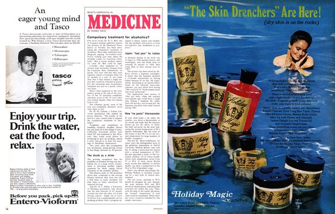 Article Preview: WHAT'S HAPPENING IN MEDICINE, September 1968 | Maclean's
