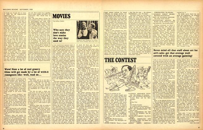 Article Preview: Who says they don't make love stories the way they used to?, September 1968 | Maclean's