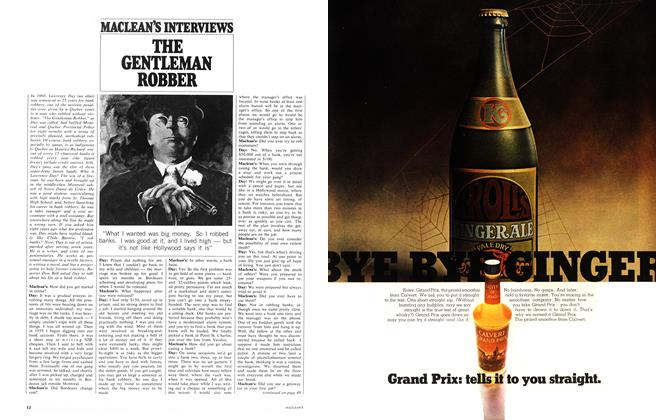 Article Preview: THE GENTLEMAN ROBBER, September 1968 | Maclean's
