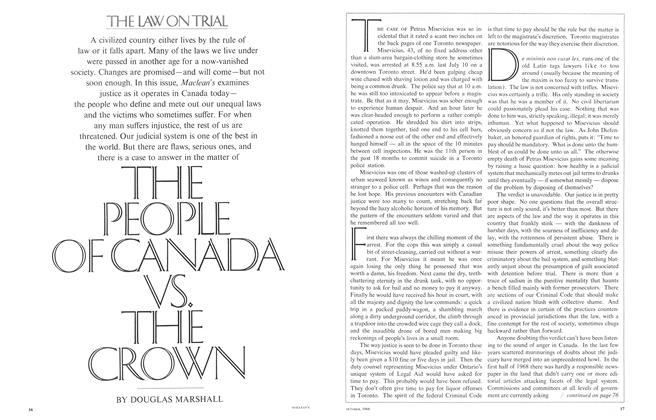 Article Preview: THE PEOPLE OF CANADA VS. THE CROWN, October 1968 | Maclean's