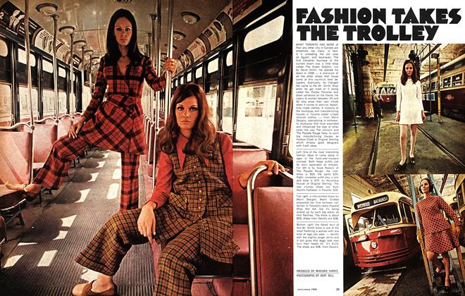 Article Preview: FASHION TAKES THE TROLLEY, November 1968 | Maclean's