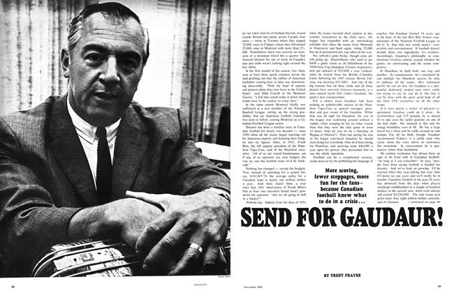 Article Preview: SEND FOR GAUDAUR!, November 1968 | Maclean's