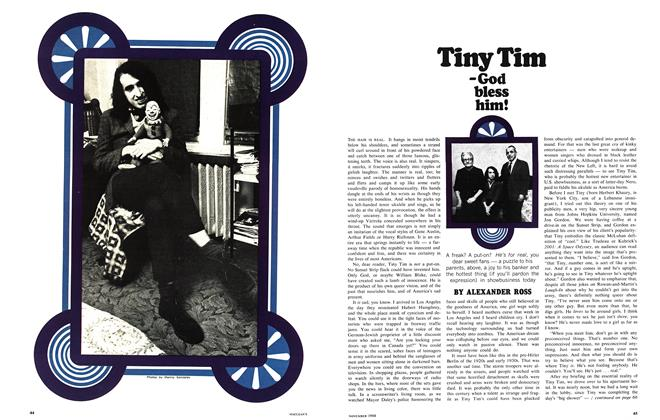 Article Preview: Tiny Tim -God bless him!, November 1968 | Maclean's