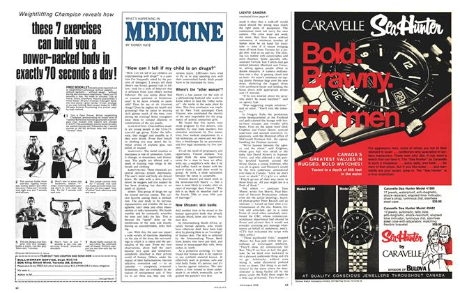 Article Preview: WHAT'S HAPPENING IN MEDICINE, November 1968 | Maclean's