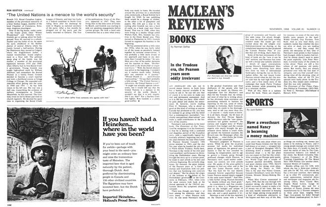 Article Preview: BOOKS, November 1968 | Maclean's