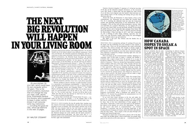 Article Preview: THE NEXT BIG REVOLUTION WILL HAPPEN IN YOUR LIVING ROOM, December 1968 | Maclean's
