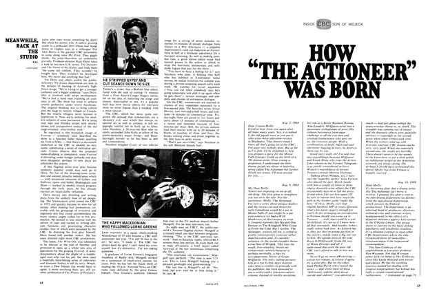 "Article Preview: HOW ""THE ACTIONEER"" WAS BORN, December 1968 