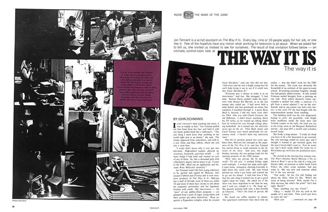 Article Preview: THE WAY IT IS The way it is, December 1968 | Maclean's