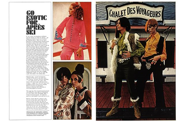 Article Preview: GO EXOTIC FOR APRES SKI, December 1968 | Maclean's