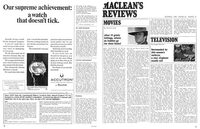 Article Preview: MOVIES, December 1968 | Maclean's