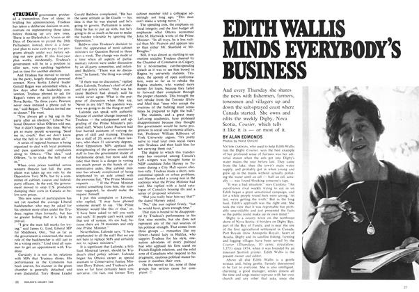 Article Preview: EDITH WALLIS MINDS EVERYBODY'S BUSINESS, January 1969 | Maclean's
