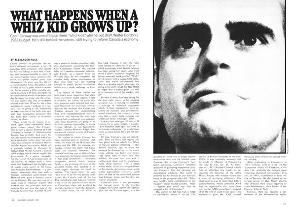 Article Preview: WHAT HAPPENS WHEN A WHIZ KID GROWS UP?, January 1969 | Maclean's