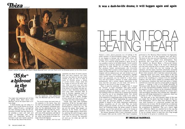 Article Preview: THE HUNT FOR A BEATING HEART, January 1969 | Maclean's