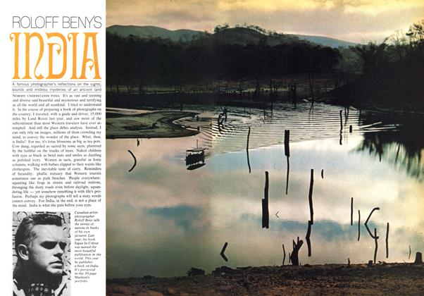 Article Preview: ROLOFF BENY'S INDIA, February 1969 | Maclean's