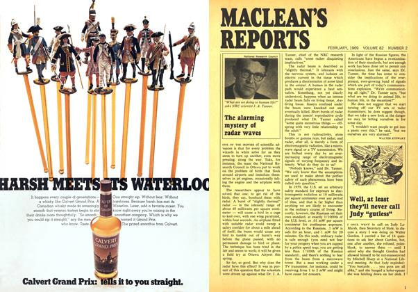 Article Preview: The alarming mystery of radar waves, February 1969 | Maclean's
