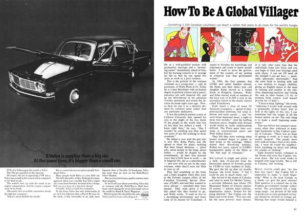 Article Preview: How To Be A Global Villager, February 1969 | Maclean's