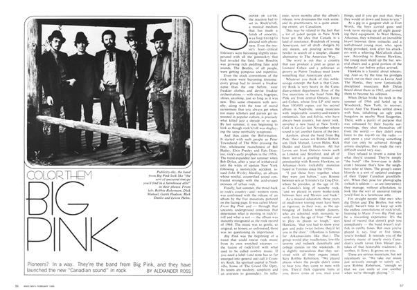 Article Preview: COLOUR THEM BIG PINK, February 1969 | Maclean's