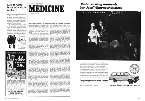 Article Preview: MEDICINE, February 1969 | Maclean's